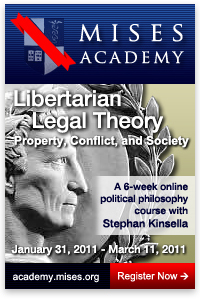 Mises Academy: Stephan Kinsella teaches Libertarian Legal Theory