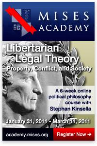 Mises Academy: Stephan Kinsella teaches Libertarian Legal Theory