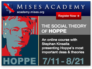 Mises Academy: Stephan Kinsella teaches The Social Theory of Hoppe