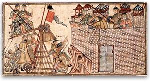 Mongol siege