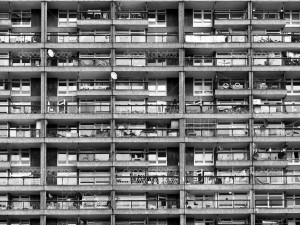 Trellick Tower iconic sixties new brutalist architecture